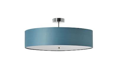 Brilliant Leuchten Deckenleuchten, E27, Andria Deckenleuchte 60cm chrom/blau kaufen