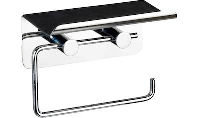 WENKO Toilettenpapierhalter, mit Soft-Touch Smartphone-Ablage kaufen