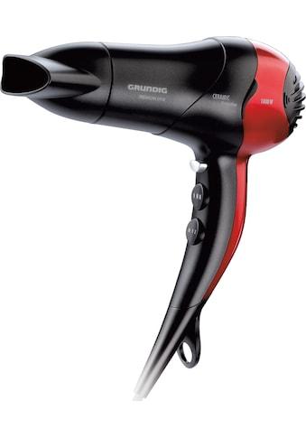 Grundig Haartrockner HD 3700, 1800 Watt, Aufsätze: 1 kaufen