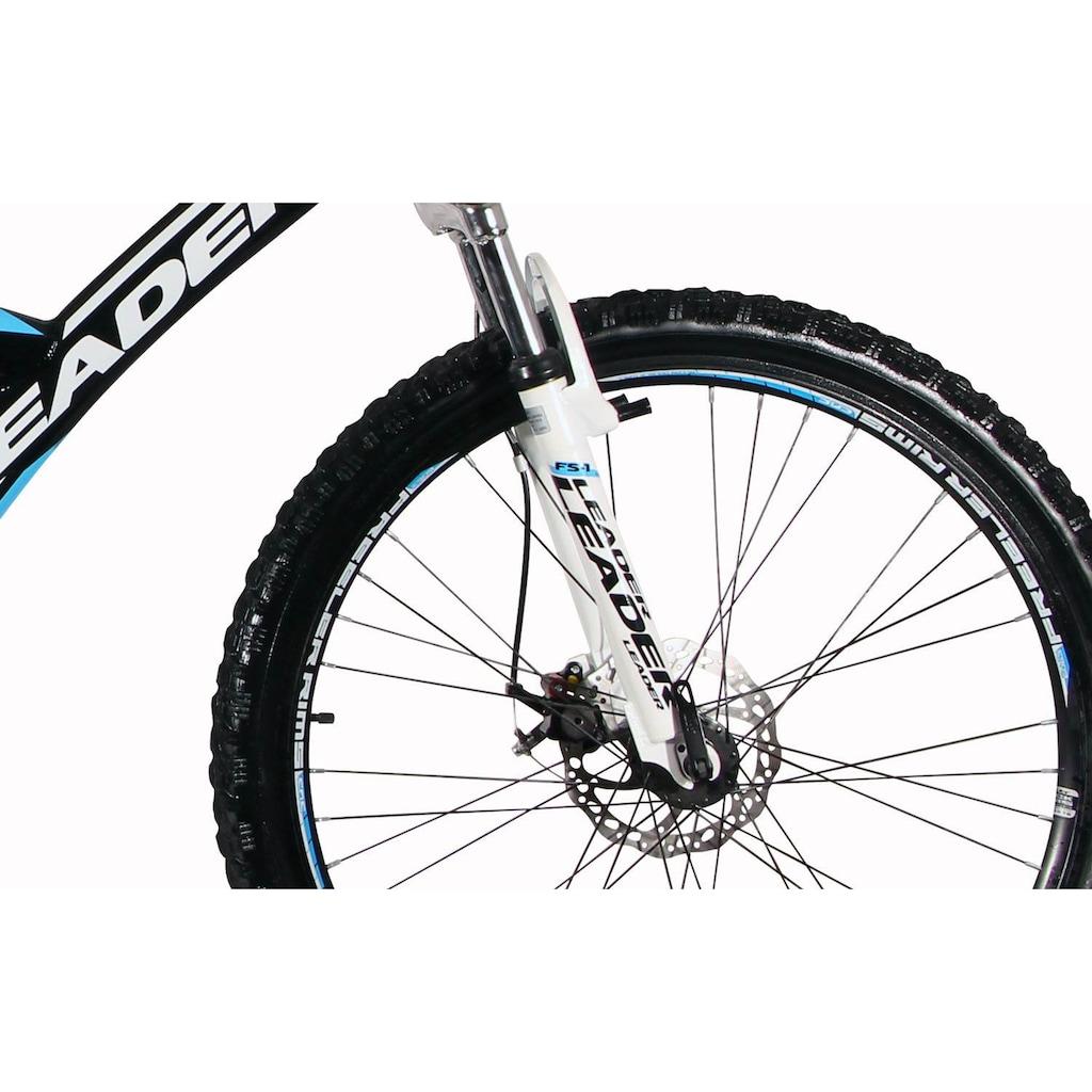 Leader Mountainbike »Energy«, 21 Gang Shimano Tourney Schaltwerk, Kettenschaltung