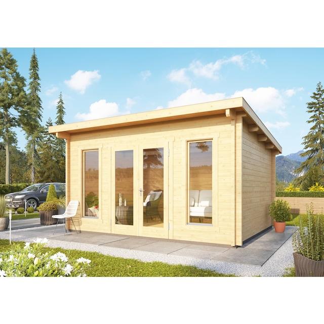 WOODFEELING Gartenhaus »Stavanger 2«, BxT: 400x420 cm