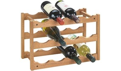 Set: WENKO Weinregal »Norway«, 2er - Set, für bis zu 24 Weinflaschen kaufen