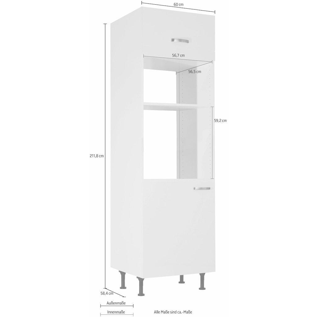 OPTIFIT Backofenumbauschrank »Cara«, geeignet für Einbaumikrowellengerät