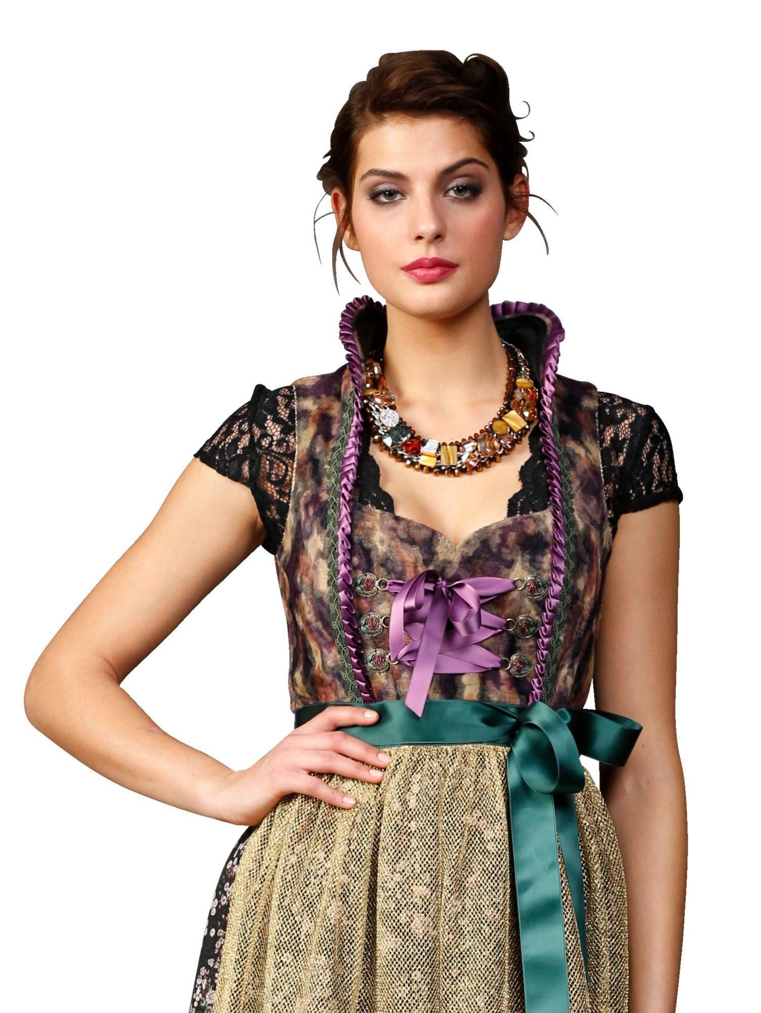 Alba Moda Dirndl-Bluse aus Spitze