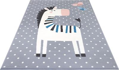 Kinderteppich, »Zebra Funny«, HANSE Home, rechteckig, Höhe 9 mm, maschinell gewebt kaufen