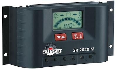 Sunset Solarladegerät »SR 2020M«, 20000 mA, (1 St.), 20A kaufen