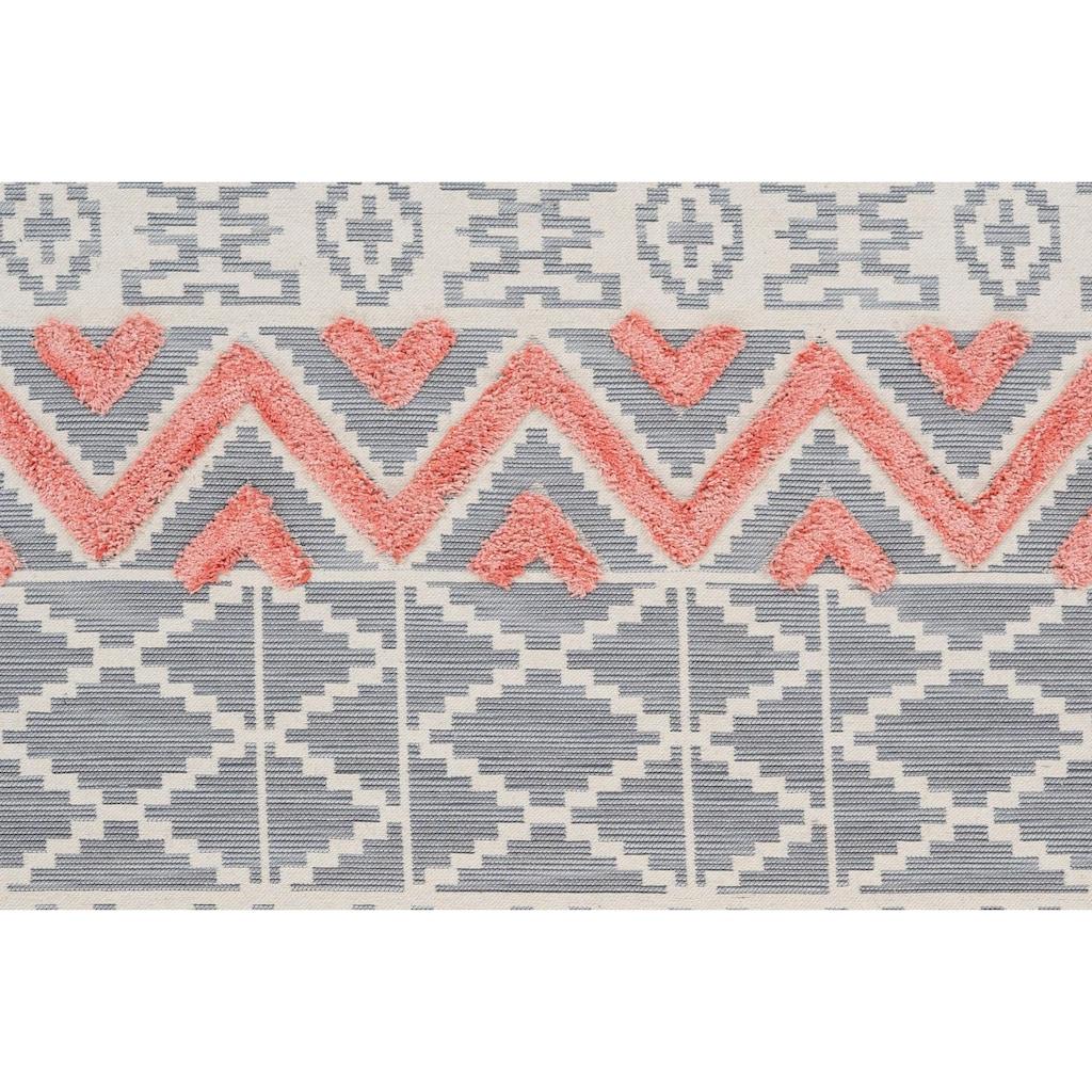 Home affaire Teppich »Anika«, rechteckig, 10 mm Höhe, Wohnzimmer