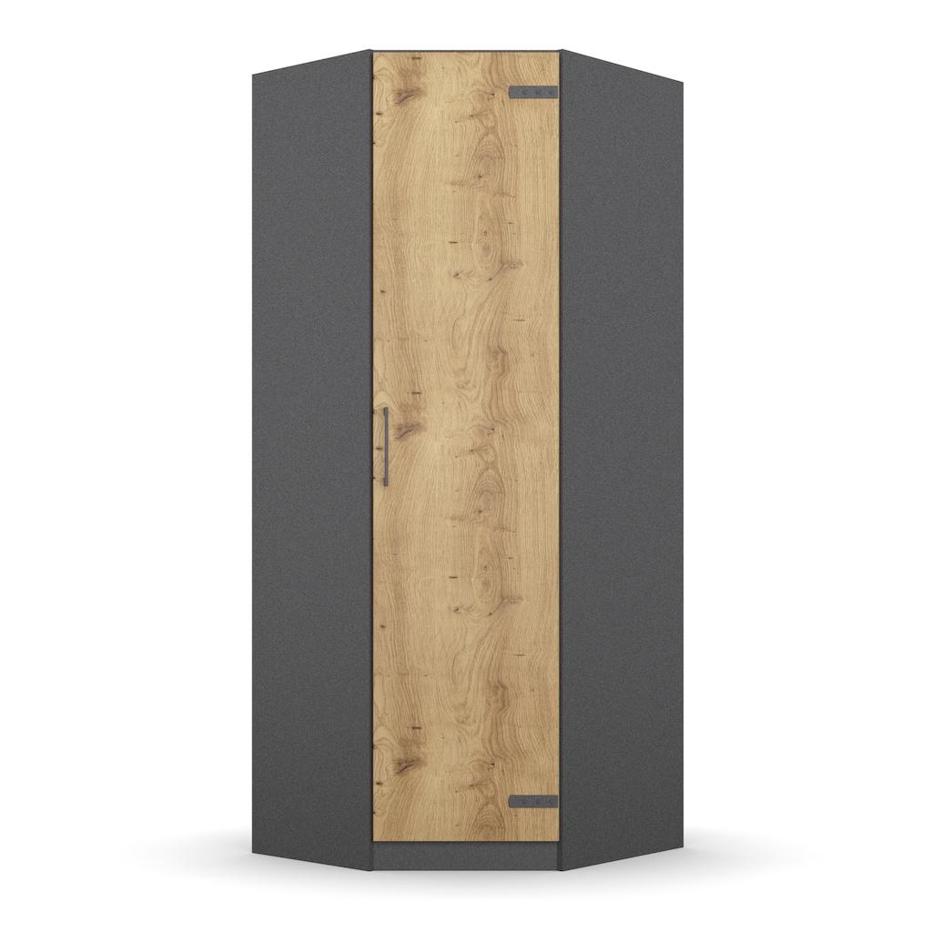 rauch ORANGE Eckkleiderschrank »Holmes«, im Industrial Style