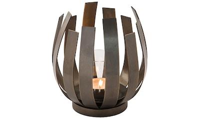 Fink Windlicht »ORFEA«, aus Edelstahl inkl. Glaszylinder, verspielt und gradlinig kaufen