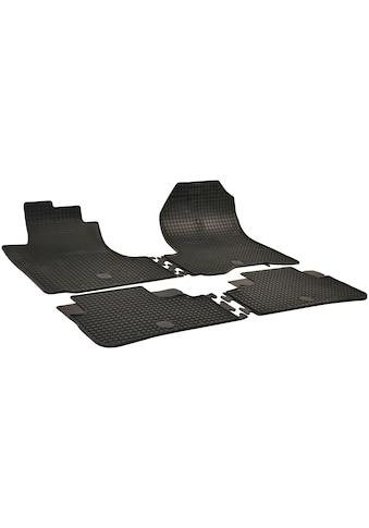 Walser Passform-Fußmatten, Honda, CRV, Geländewagen, (4 St., 2 Vordermatten, 2 Rückmatten), für Honda CRV BJ 2007 - 2012 kaufen