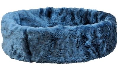 SILVIO design Tierbett »Ruhe- und Schlafinsel«, BxLxH: 50x50x12 cm, blau kaufen