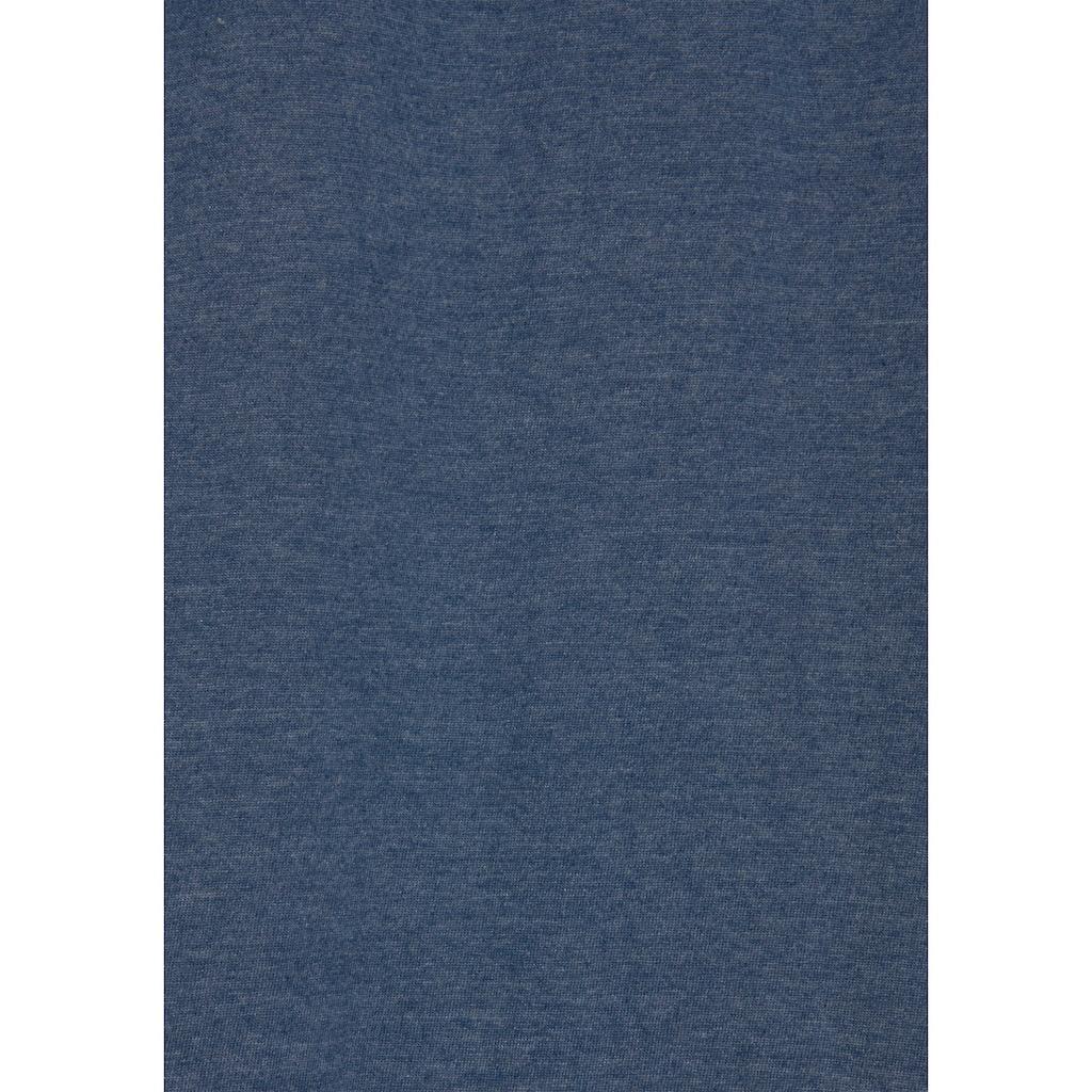 Arizona Nachthemd, mit gestreiften Bündchen