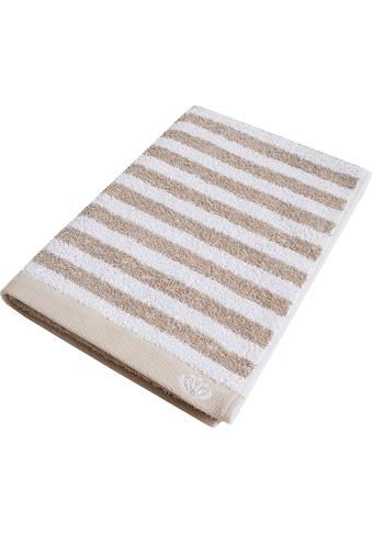 freundin Home Collection Handtücher »Freundin Lifestyle Streifen«, (2 St.), mit klassisch gestreiftem Design kaufen