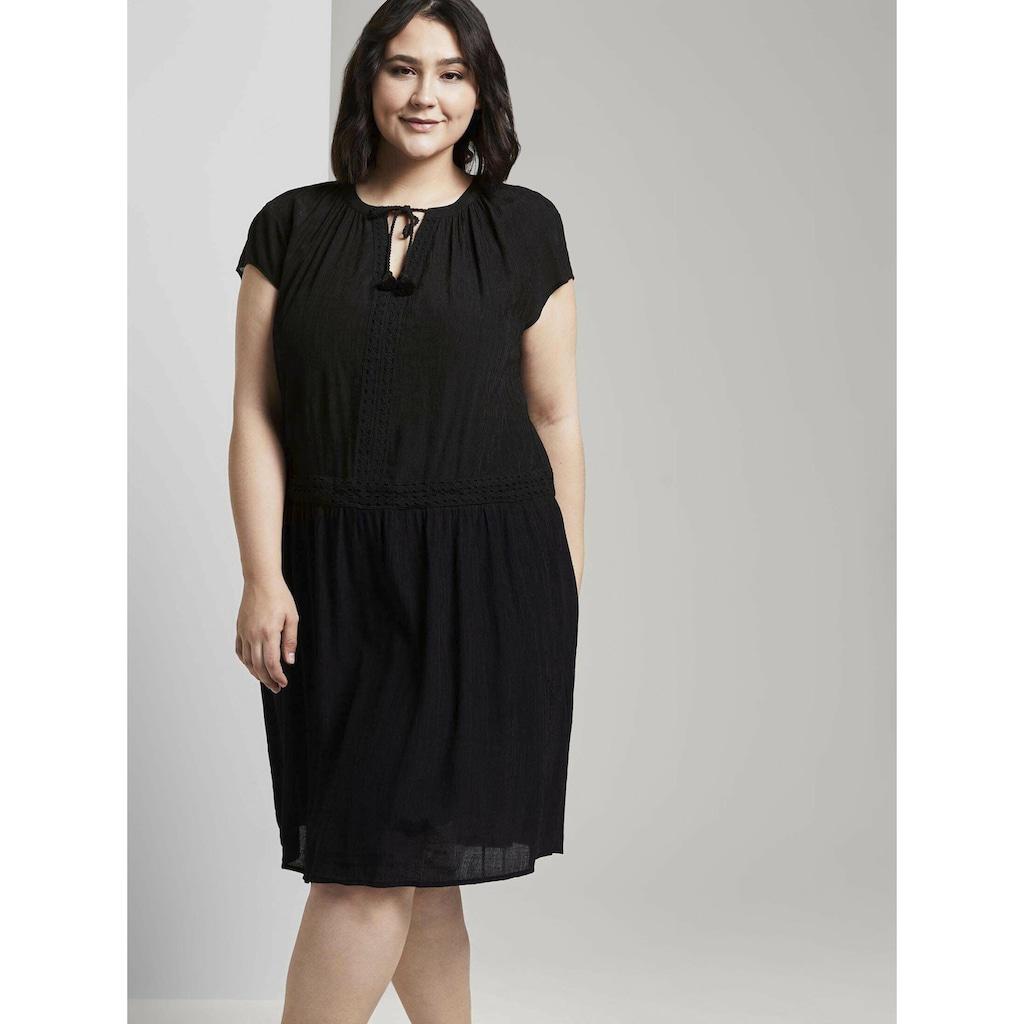 TOM TAILOR MY TRUE ME Sommerkleid »Kleid mit dekorativen Häkel-Details«