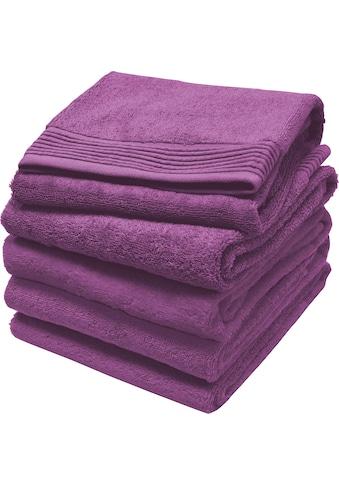 Primera Handtuch »Premium«, (2 St.), mit einer eleganten Chenille-Bordüre kaufen