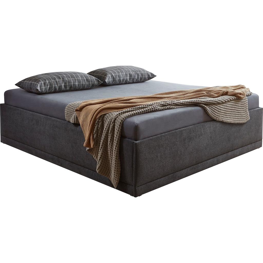 Westfalia Schlafkomfort Polsterbett »Texel«, mit Zierkissen, Standardhöhe