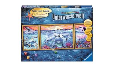 Ravensburger Malen nach Zahlen »Farbenfrohe Unterwasserwelt«, Made in Europe, FSC® -... kaufen