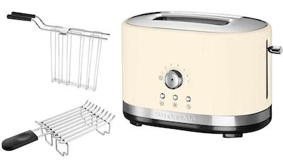 KitchenAid Toaster »5KMT2116EAC«, 2 kurze Schlitze, für 2 Scheiben, 1200 W kaufen
