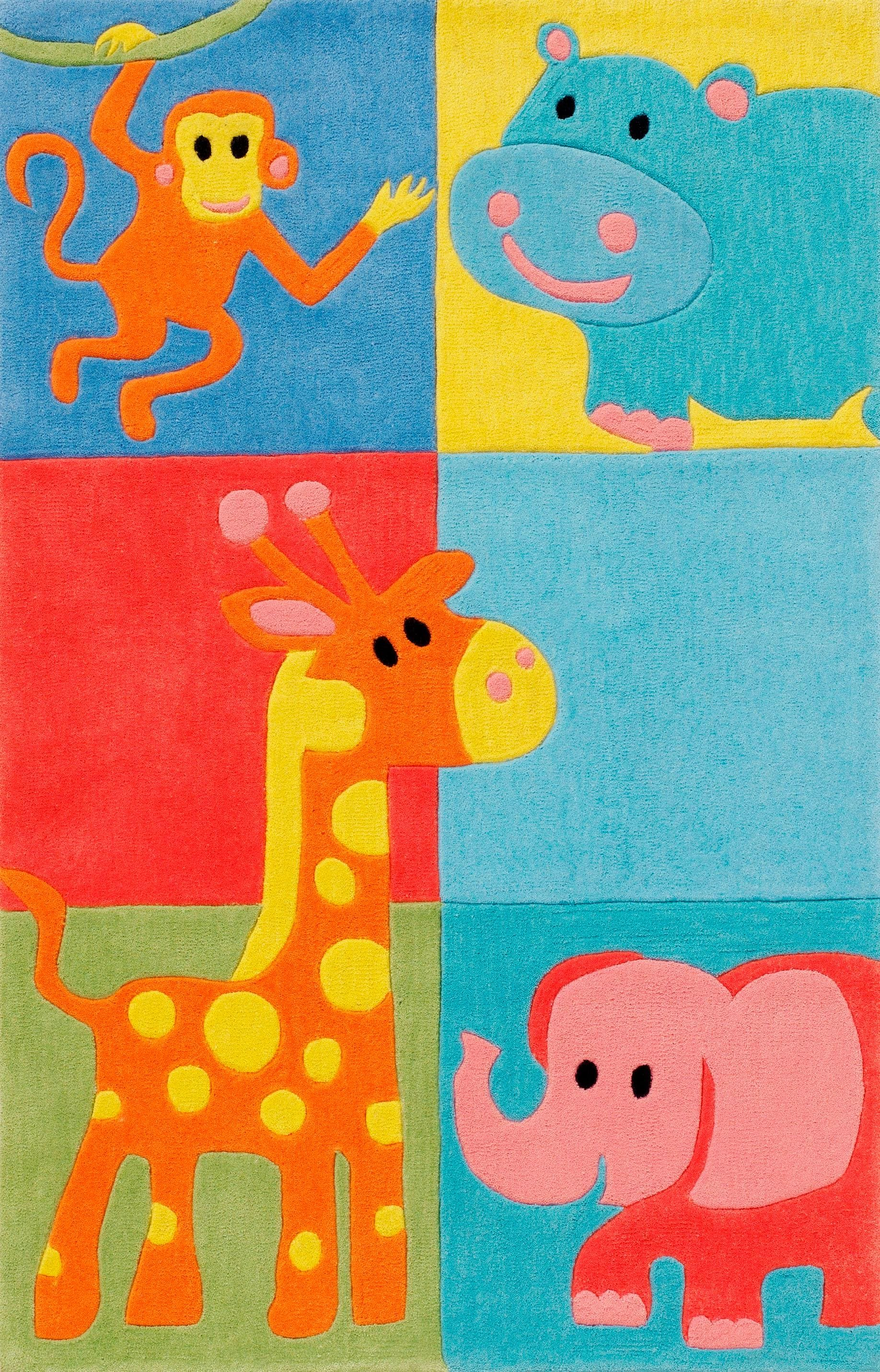 Kinder-Teppich Böing Carpet Kids 1365 Höhe 11 mm handgetuftet