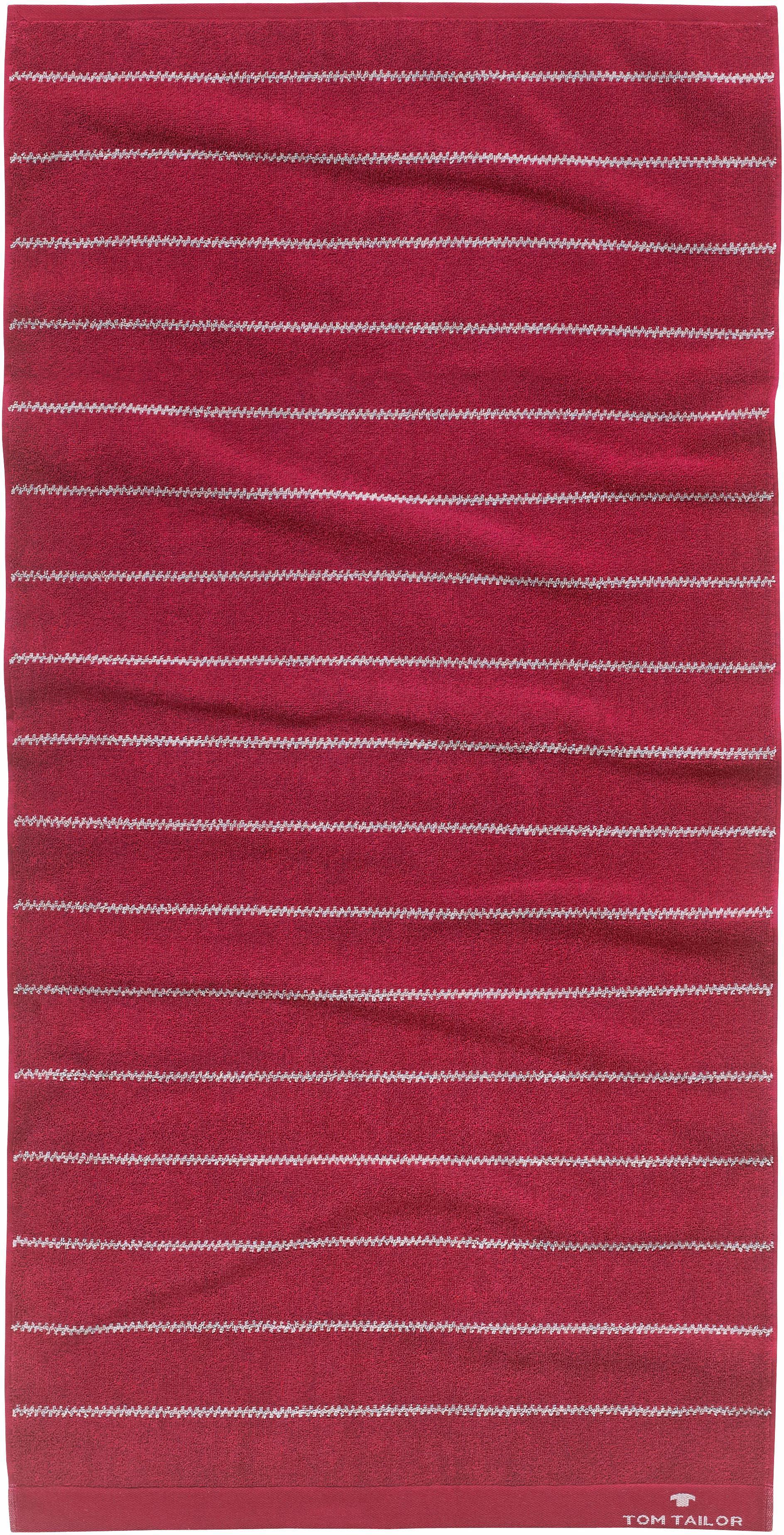 Handtücher Slim Stripes TOM TAILOR