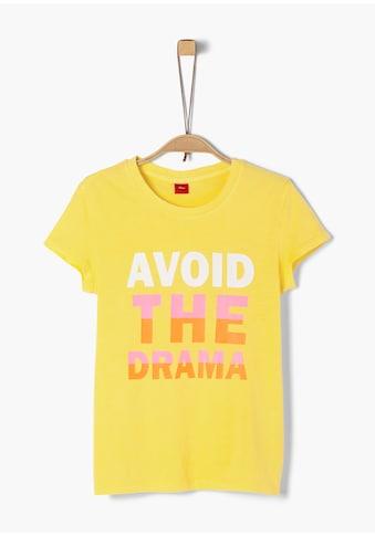 s.Oliver Jerseyshirt_für Mädchen kaufen