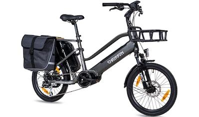 Chrisson E-Bike »eCargo«, 8 Gang, Shimano, Acera RD-M360, Mittelmotor 250 W kaufen