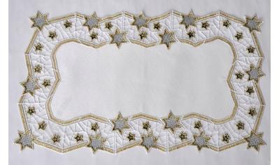 Stickereien Plauen Tischdecke »Goldtanne« kaufen