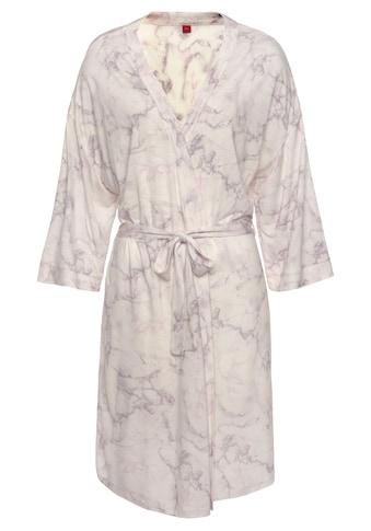 s.Oliver Kimono, mit marmorierten Druck kaufen