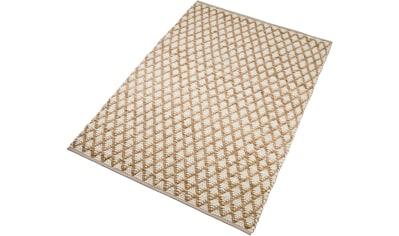 Teppich, »Edge«, Home affaire, rechteckig, Höhe 10 mm, handgewebt kaufen
