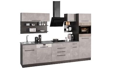 HELD MÖBEL Küchenzeile »Tulsa«, ohne E - Geräte, Breite 290 c kaufen