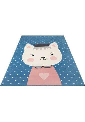 Kinderteppich, »Kitty Bonny«, HANSE Home, rechteckig, Höhe 9 mm, maschinell gewebt kaufen