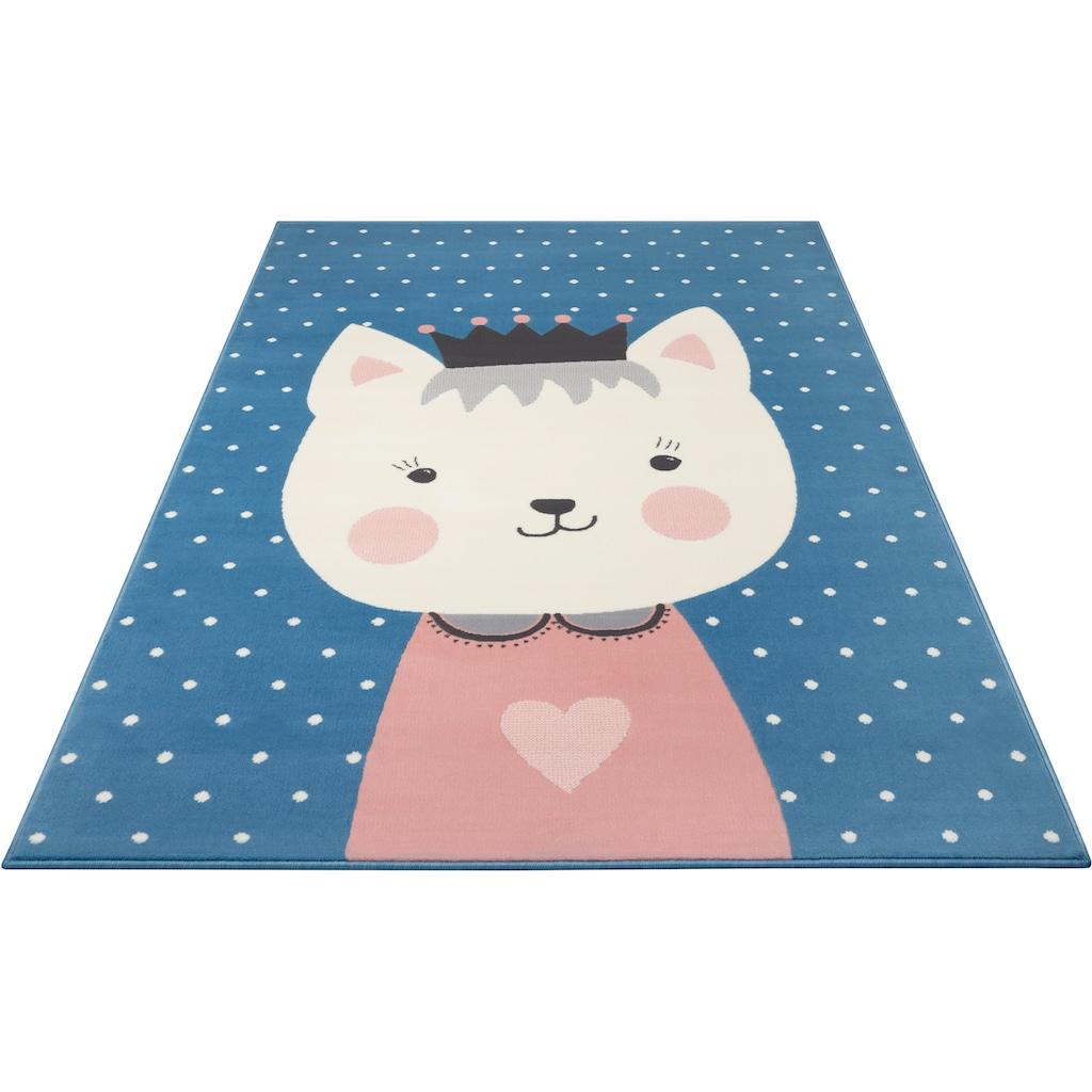 Kinderteppich, »Kitty Bonny«, HANSE Home, rechteckig, Höhe 9 mm, maschinell gewebt