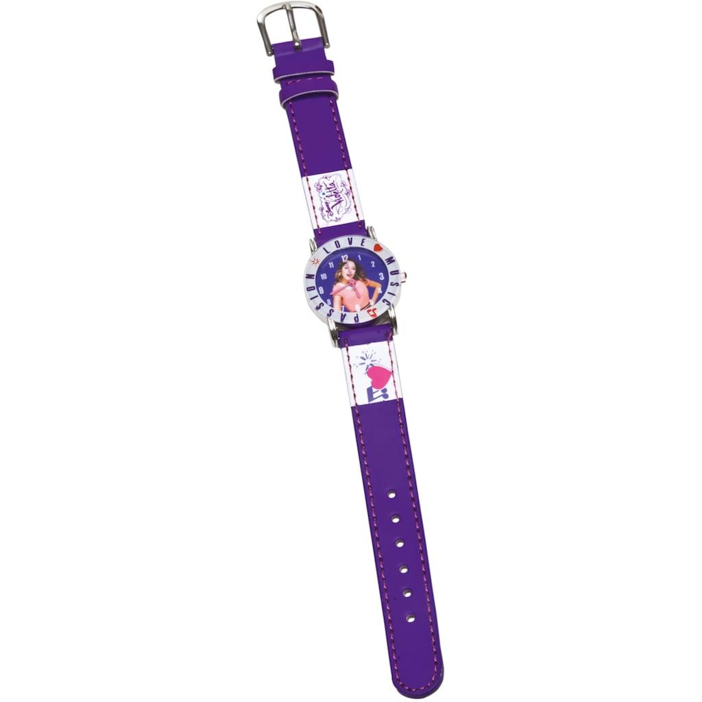 Joy Toy Quarzuhr »Disney Violetta Armbanduhr, 117014«