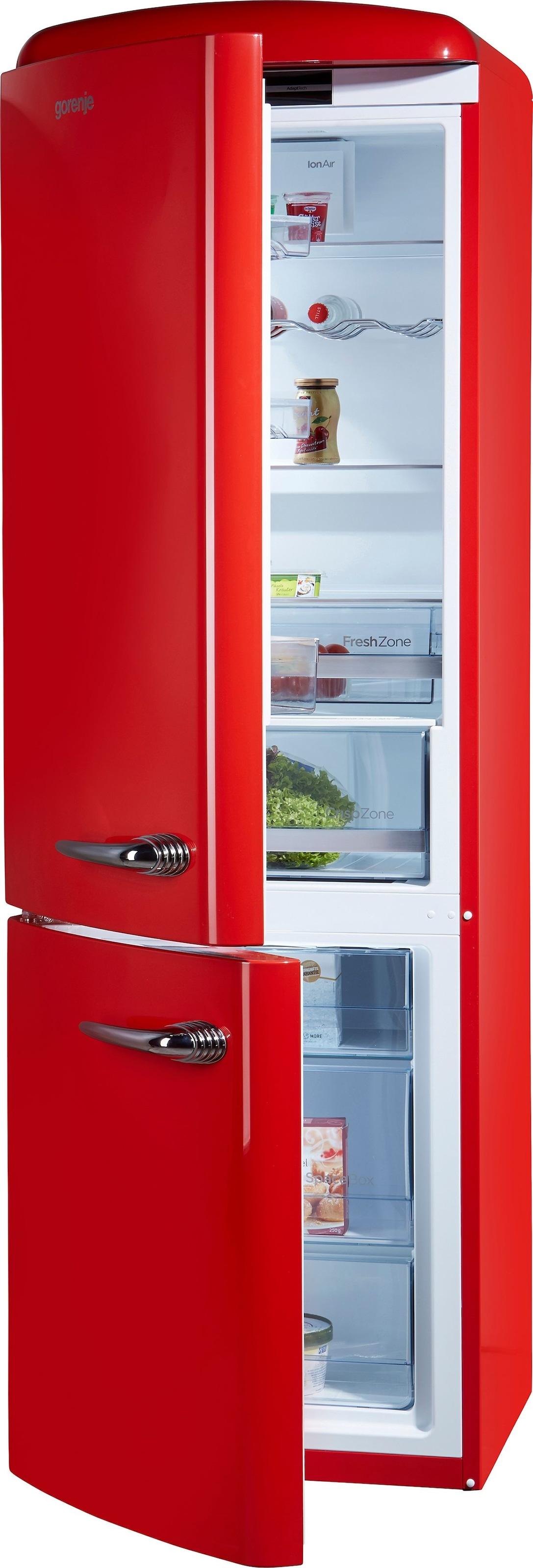 Retro Kühlschrank Pastellblau : Retro kühlschränke rot auf raten kaufen baur