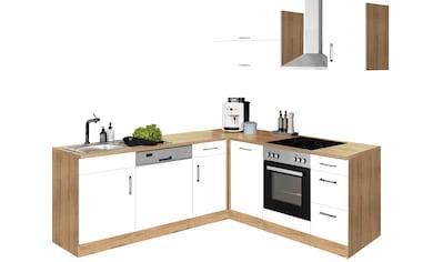 HELD MÖBEL Winkelküche »Colmar«, mit E-Geräten, Stellbreite 210/210 cm kaufen