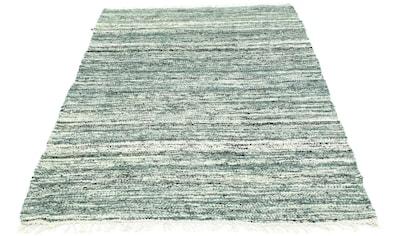 morgenland Wollteppich »Kelim Teppich handgewebt mehrfarbig«, rechteckig, 6 mm Höhe,... kaufen