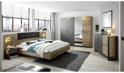 Places of Style Schlafzimmer-Set »Malthe«, (Set, 4 St., 2 Nachtkonsolen inkl.... kaufen
