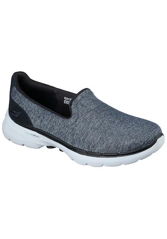 Skechers Slip-On Sneaker »GO WALK 6«, mit gepolsterter Innensohle kaufen