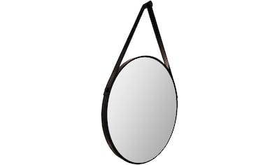 TALOS Badspiegel »Black Style«, Ø 50 cm, ohne Beleuchtung kaufen