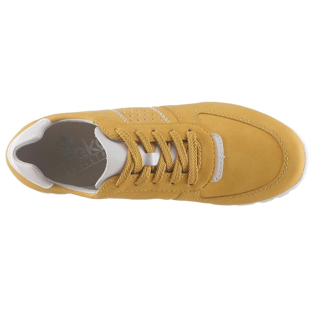 Rieker Sneaker, mit gepolsterter Innensohle