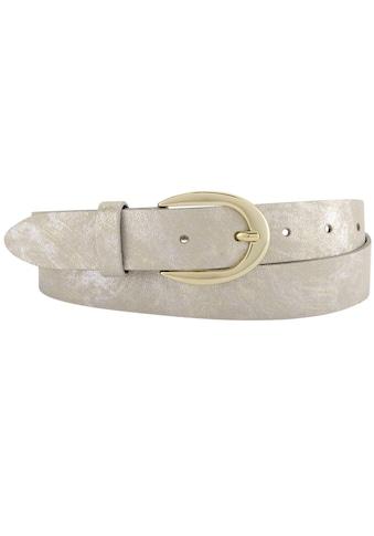 BERND GÖTZ Ledergürtel, mit metallisch reflektierendem Wischeffekt kaufen