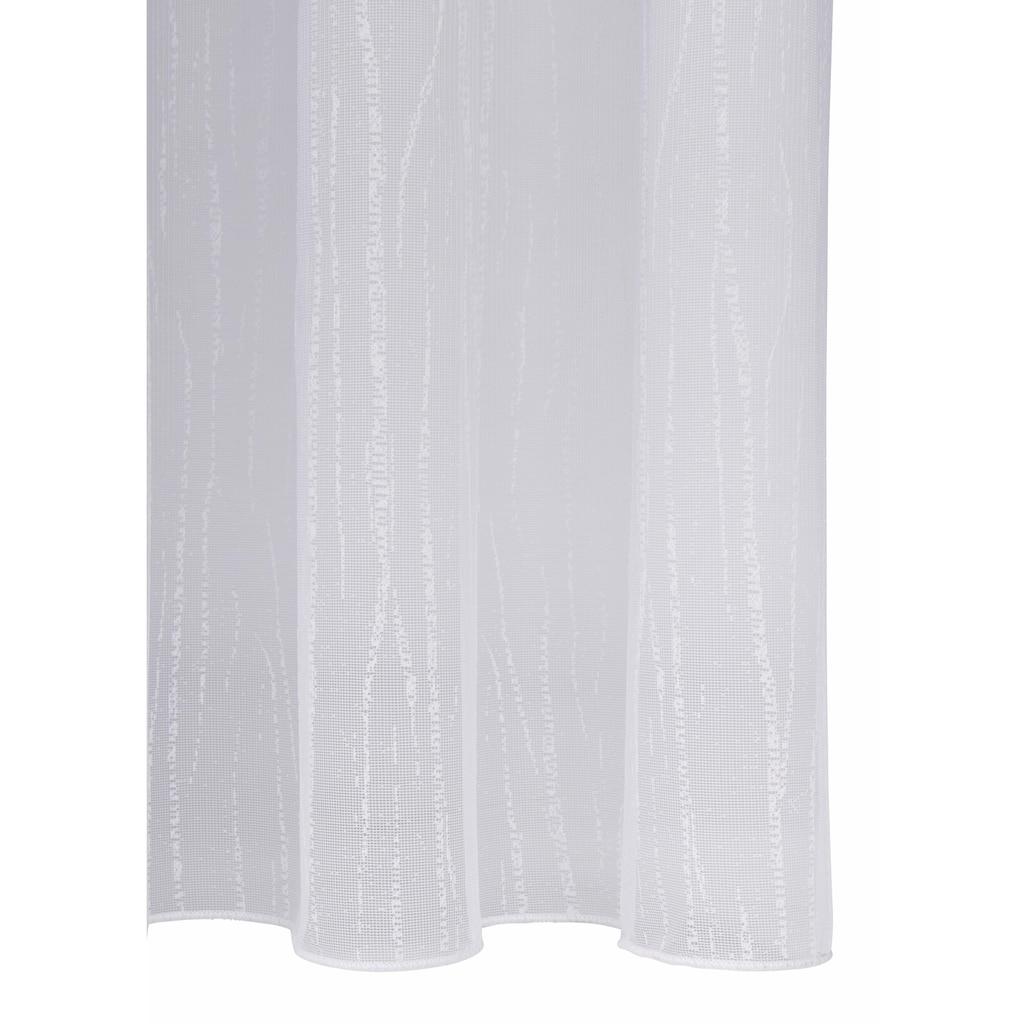 my home Gardine »Issy«, Vorhang, Fertiggardine, Store, transparent