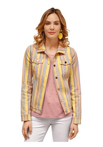 Amy Vermont Jeansjacke, im Streifen-Design kaufen