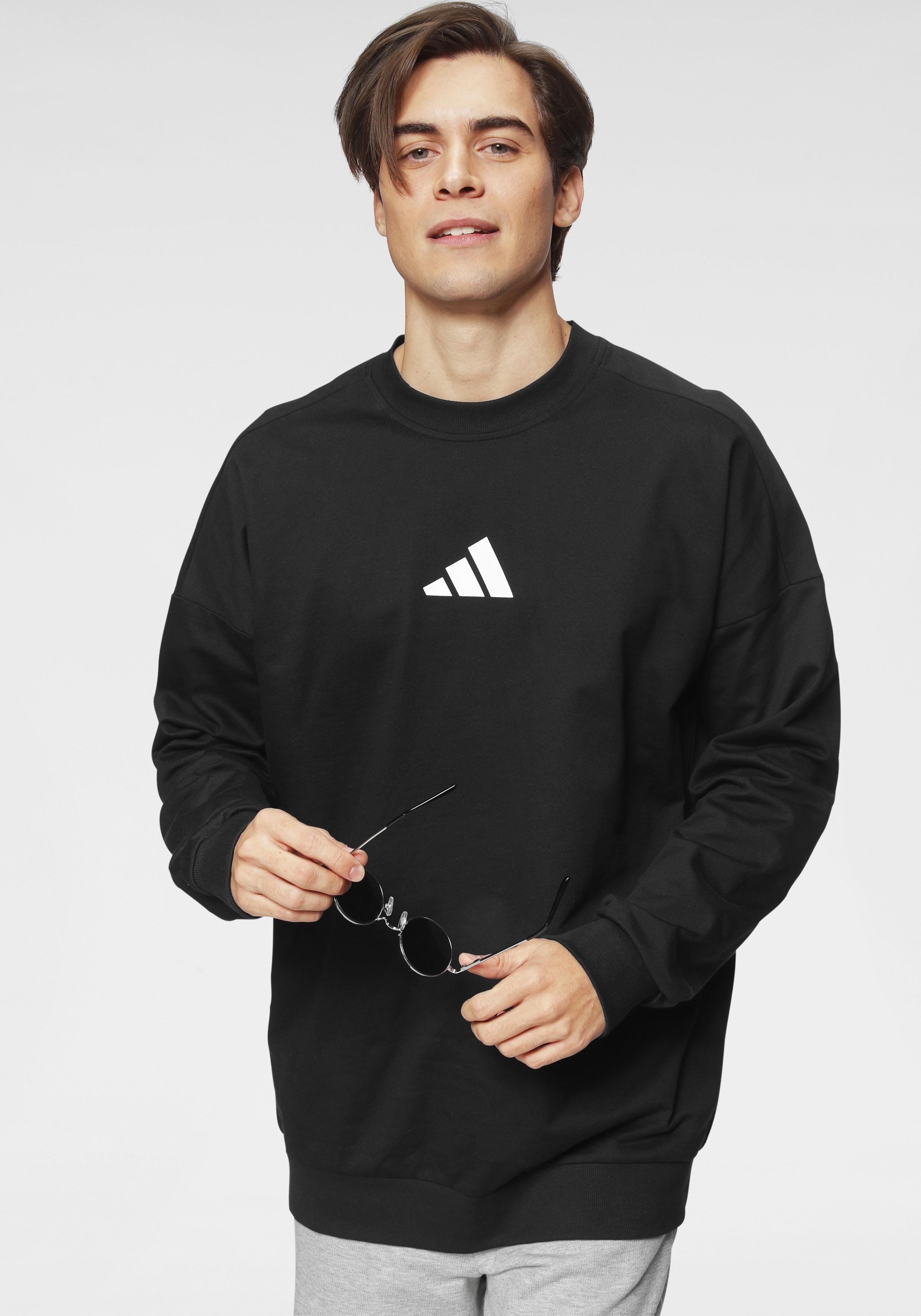 adidas Performance Sweatshirt TIGER CREW schwarz Herren Sweatshirts -jacken