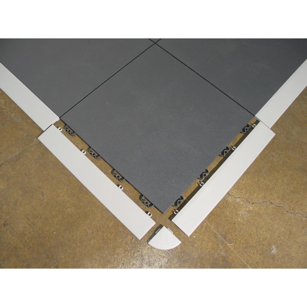 Bergo Flooring Klickfliesen-Abschlussleiste, Kantenleisten Elite