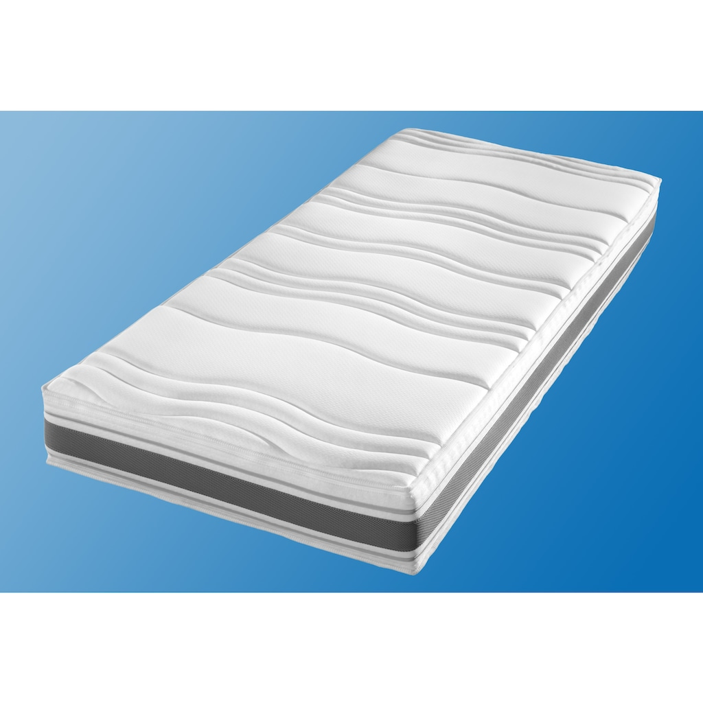 fan Schlafkomfort Exklusiv Kaltschaummatratze »Punktoflex De Luxe KS«, (1 St.), mit Greenfirstbezug gegen Milben