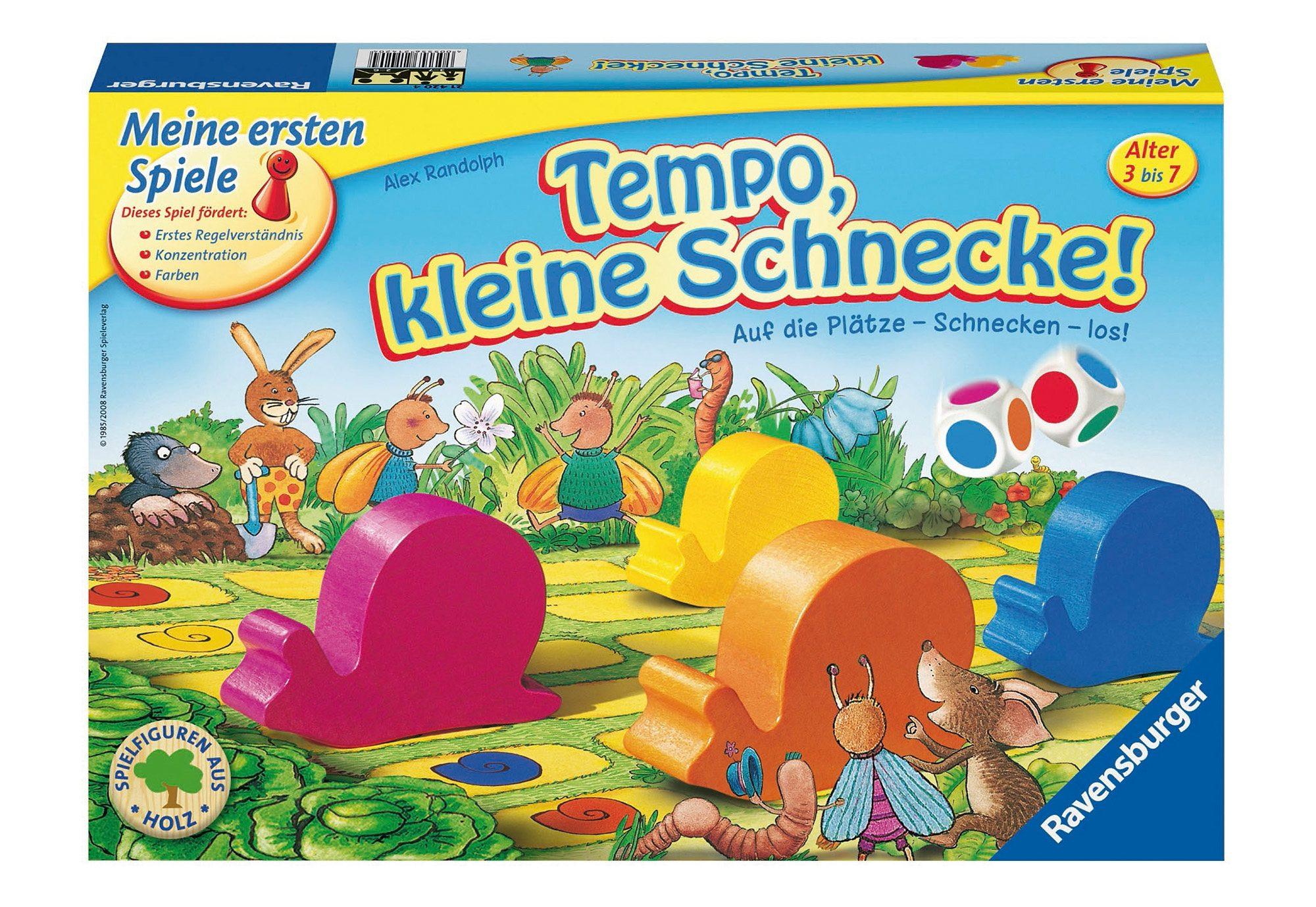 Ravensburger Kinder-Spiel,  Auf die Plätze - Schnecken - los!  Preisvergleich