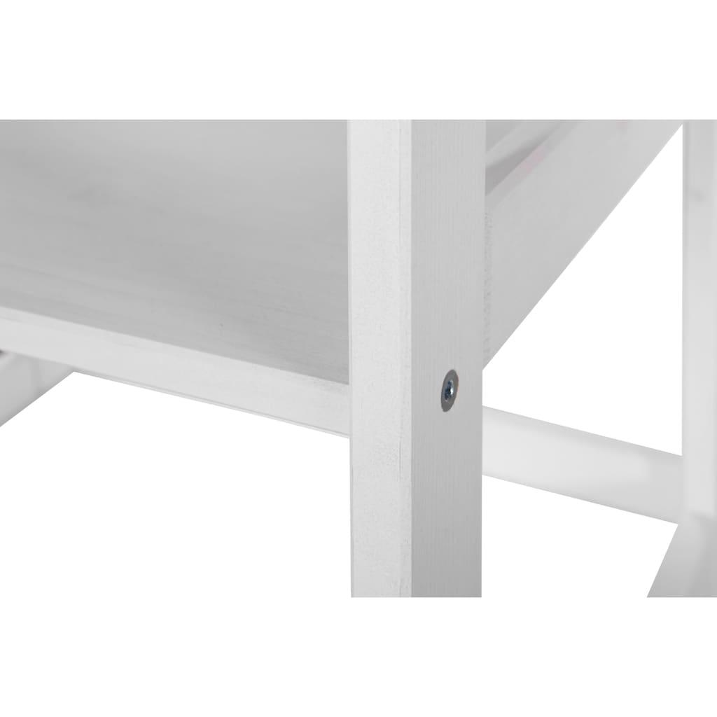 welltime Badregal »Amrum«, Breite 43 cm, 5 Fächer, aus Massivholz
