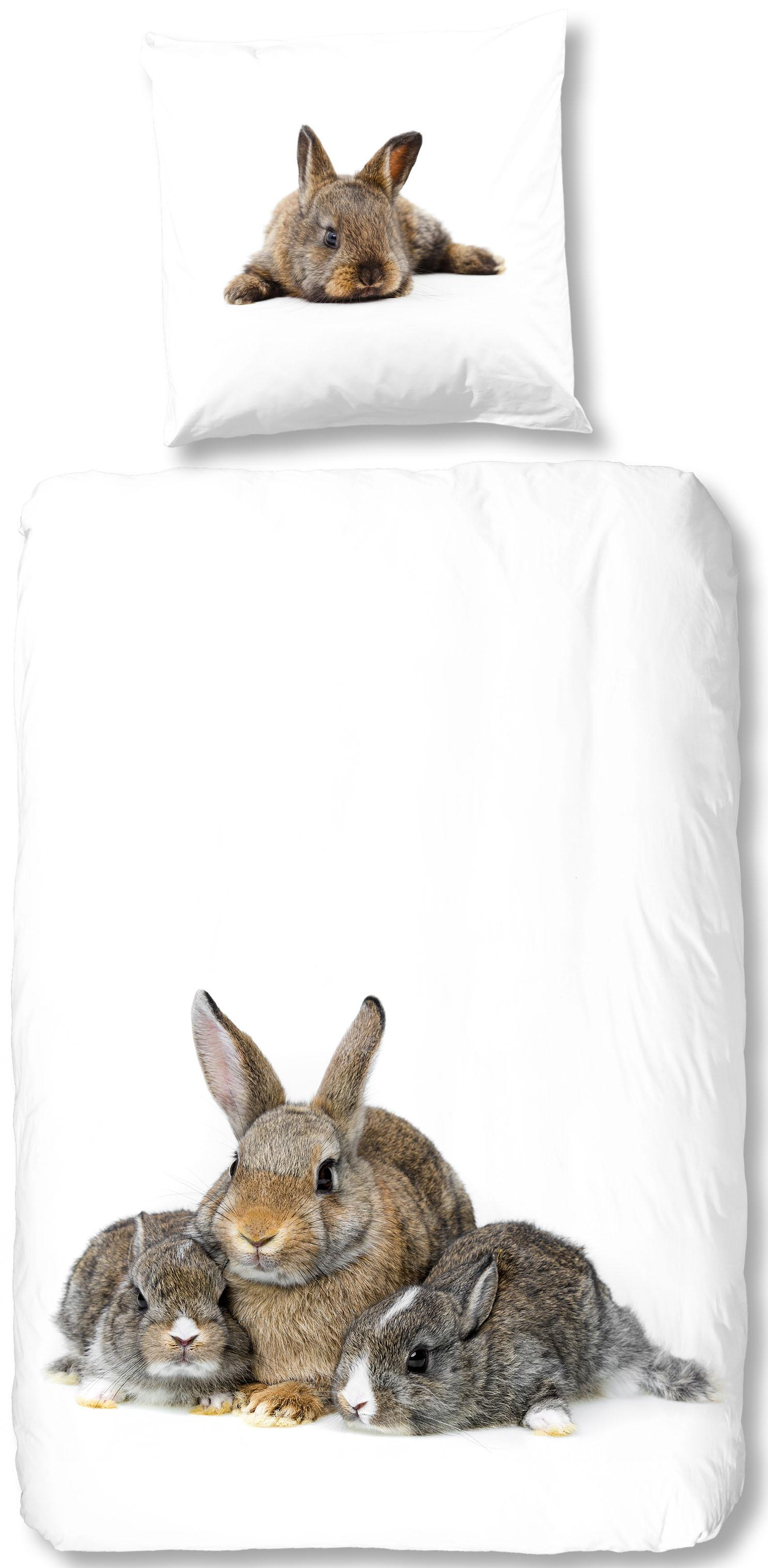 Bettwäsche Cute Rabbits good morning