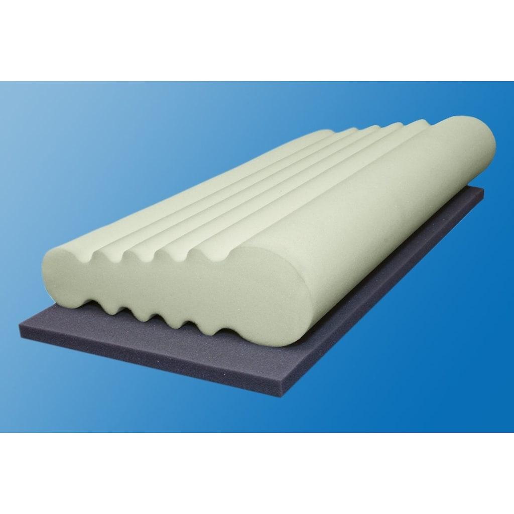 Beco Nackenstützkissen »Vario Soft«, (1 St.), mit zwei unterschiedlichen Höhen und Härten